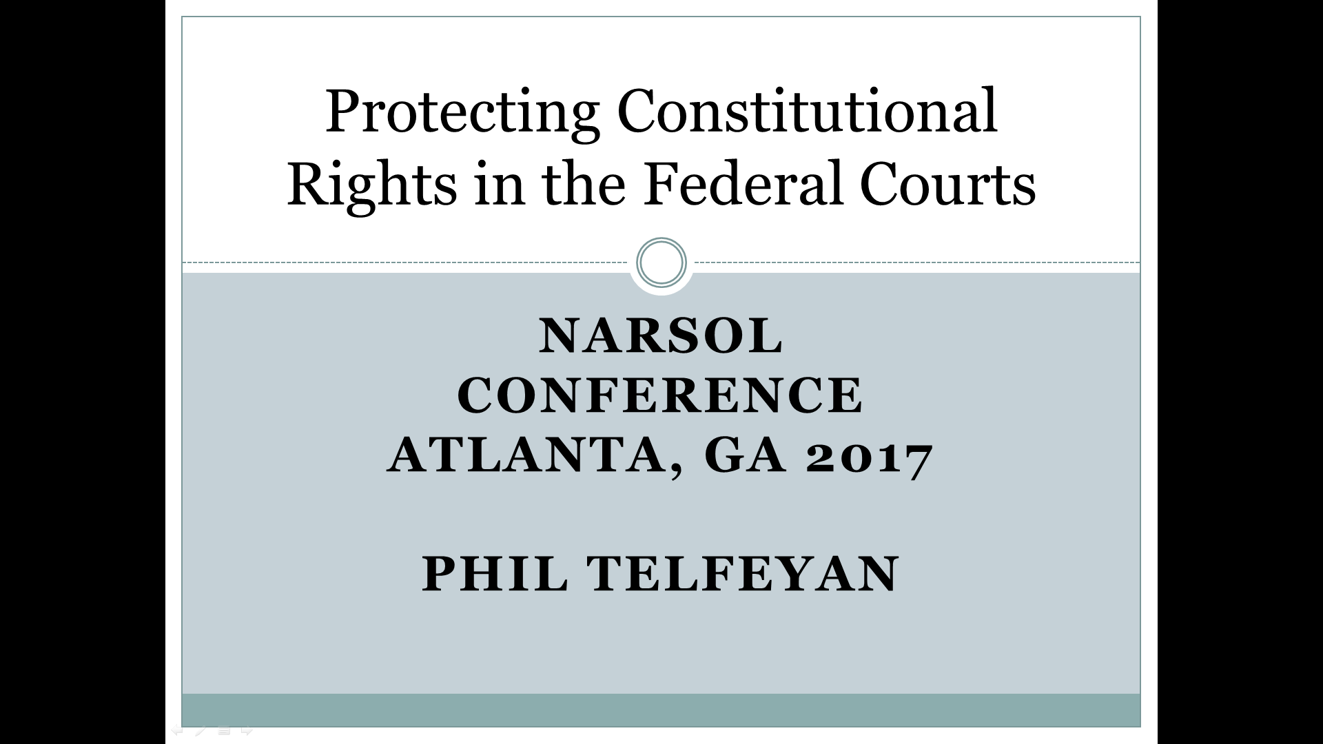 Phil Telfeyan – Protecting constitutional rights in the federal courts