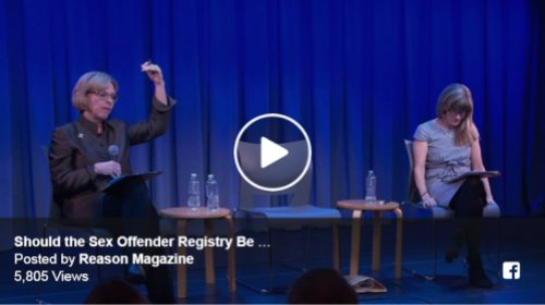 Watch Debate – Should the Sex Offender Registry be Abolished?