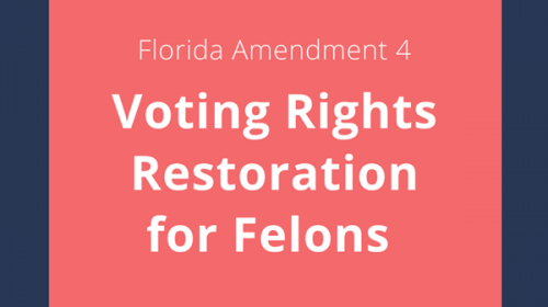 Voting restoration amendment in Florida excludes registered sex offenders