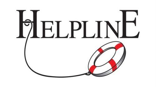 Helpline available Christmas Eve, Christmas Day