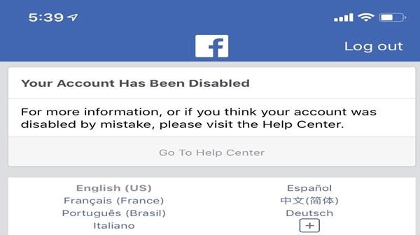 Facebook Unfriended Me
