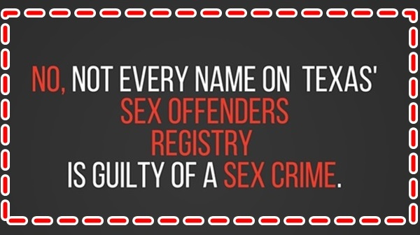 The question to ask re sexual offense laws: What bad do they do?