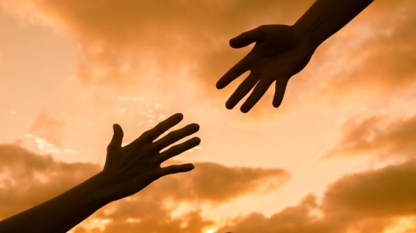 Reach in — reach out