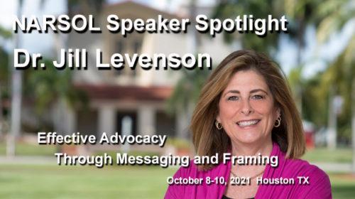 Dr. Jill Levenson to speak at NARSOL's Houston conference in October