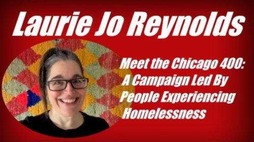 Laurie Jo Reynolds and the Chicago 400 at NARSOL's 2021 conference
