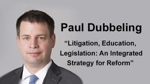 Back by popular demand: Attorney Paul Dubbeling at 2021 Houston conference