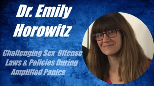 Emily Horowitz featured speaker at NARSOL's Oct. 2021 conference